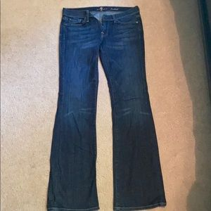 7 For All Mankind Bootcut Jean EUC Size 30